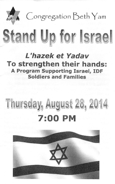 StandUpforIsrael-August2014-1
